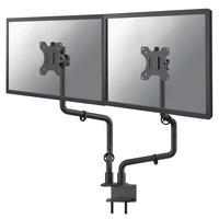 "Neomounts by Newstar FPMA-D010DBLACK full motion bureausteun 2 schermen t/m 30"" Monitorarm - Zwart"