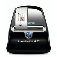 DYMO LabelWriter 450 Imprimante d'étiquette - Noir, Argent