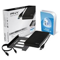 PNY SSD Upgrade Kit Pièce du boîtier de l'ordinateur - Noir