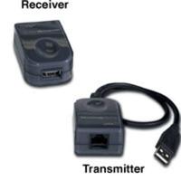 C2G USB Superbooster Extender Interfaceadapter - Zwart