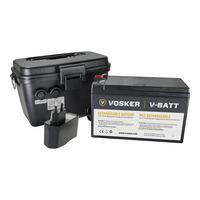 Vosker V-CASE-12V-EU Accessoire bewakingscamera