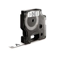 DYMO D1 Standard - Black on White - 12mm Labelprinter tape