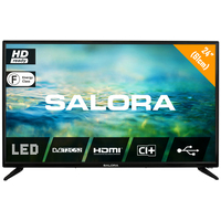 """Salora 2100 series 24"""" (61CM) HD LED TV MET DVB-S2/T/T2/C EN USB MEDIASPELER Led-tv - Zwart"""