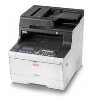 OKI MC563dn multifunctionele A4-kleurenprinter Multifunctional - Zwart, Cyaan, Magenta, Geel