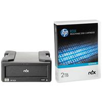 Hewlett Packard Enterprise RDX 2TB USB3.0 External Disk Backup System Lecteur cassette