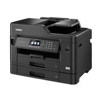 Brother 5 in 1 - Network A3 / A4 color printer - flatbed color copier - color scanner - color fax - two paper .....