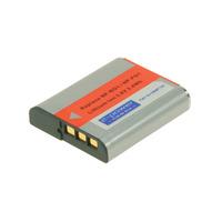 2-Power Digital Camera Battery 3.6V 940mAh - Noir,Gris,Rouge