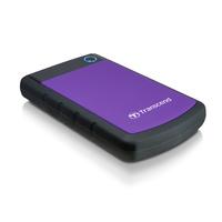 Transcend StoreJet 25H3P (USB 3.0), 2TB Disque dur externe - Noir,Violet