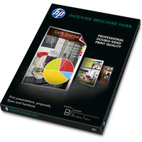 HP PageWide Glossy Brochure Papier - Blanc