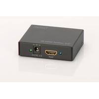 Digitus Répartiteur HDMI 4K, 1x2 Répartiteur vidéo - Noir