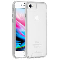 Accezz Xtreme Impact Backcover iPhone 8 / 7 / 6s / 6 - Transparant / Transparent