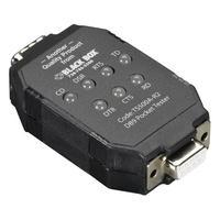 Black Box DB9 PockeTester Adaptateur Interface - Noir