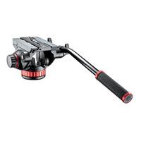 Manfrotto Rotule trépied vidéo à contrôle variable Tête de trépied - Noir, Gris, Rouge