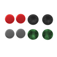 Trust GXT 262 Thumb Grips 8-pack for PS4 controllers - Zwart, Groen, Grijs, Rood