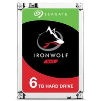 "Seagate IronWolf 6TB SATAIII, 3.5"", 7200 RPM, 256MB cache Interne harde schijf"