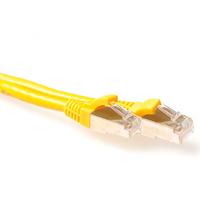 ACT RJ-45/RJ-45, Cat.6a, 30.0m Câble de réseau - Jaune