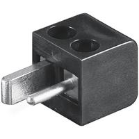 Microconnect Loudspeaker plug - Black Prises de courant électriques - Noir
