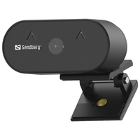 Sandberg USB Wide Angle 1080P HD Webcam - Noir
