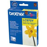 Brother LC-970YBP Blister Pack Inktcartridge - Geel