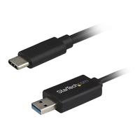 StarTech.com USB-C naar USB data transfer kabel voor Mac en Windows USB 3.0 USB kabel - Zwart