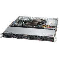 Supermicro SuperServer 6018R-MTR Barebone server - Zwart