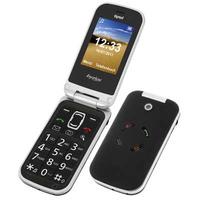 Tiptel Ergophone 6020+ Mobiele telefoon - Zwart