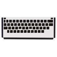 HP LaserJet Keyboard Overlay Kit-Danish/French-Switzerland/German-Switzerland Toetsenbord accessoire - Zwart