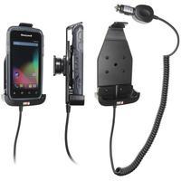 Brodit Active holder with cig-plug - Honeywell CT50 Houders - Zwart