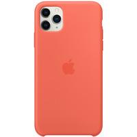 Apple Coque en silicone pour iPhone 11 Pro Max - Clémentine - Orange