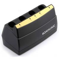 Datalogic 4-Slot Charger, For PowerScan MC-9000 Chargeur de batterie - Noir
