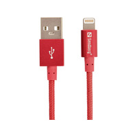 Sandberg Excellence Lightning Red 1m - Rood