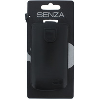 SENZA Leather Slide Case Black Size S