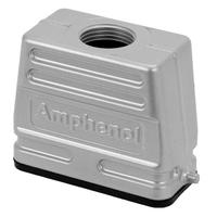 Amphenol NBR, PA, IP65, A10, M25 Multipolaire connectie behuizing - Metallic