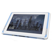 "Advantech 10.1"" Industrial Tablet, 10I, 4GB, 64GB, WIN10, 802.11AC Tablette - Noir"