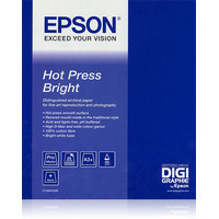 "Epson Hot Press Bright, 44"" x 15m, 300g/m² Média grand format"