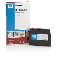 Hewlett Packard Enterprise Travan datacartridges 14 GB Data Cartridge Datatape - Zwart