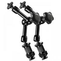 Walimex Set of 2 DSLR Swivel arm Magic 18 Camera-ophangaccessoires - Zwart