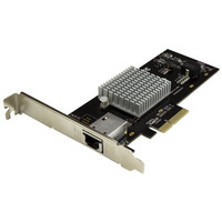 StarTech.com Carte réseau PCI Express à 1 port 10 Gigabit Ethernet avec chipset Intel X550 Carte de .....