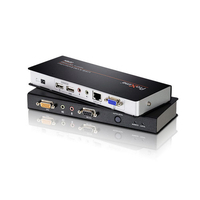 ATEN Extension KVM Cat 5 VGA/audio USB avec redressement (1280 x 1024@300m) - Noir