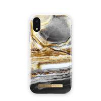 IDeal of Sweden for Apple iPhone Xr, Outer Space Agate - Goud,Wit