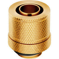 """Corsair Hydro X Series XF Compression 10/13mm (3/8"""" / 1/2"""") ID/OD Fitting Four Pack — Gold Accessoire de ....."""