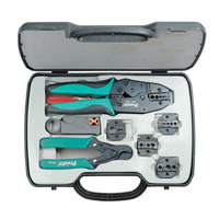 Pro'sKit Coaxial Crimping Tool Kit, #1x125, 305x210x58 mm Krimp-, knip- en striptang voor kabels - .....