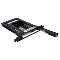 StarTech.com 2,5 inch SATA Verwisselbare Harde Schijf Bay voor PC Uitbreidingsslot Drive bay paneel - Zwart