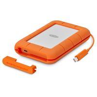 LaCie 2 TB, Thunderbolt USB-C, AES 256-bit, Mac/Windows, Orange Disque dur externe - Orange, Blanc