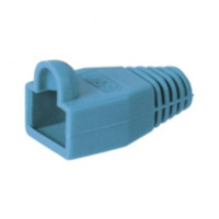 Goobay Strain relief boot for RJ45 plugs Kabelklem - Blauw