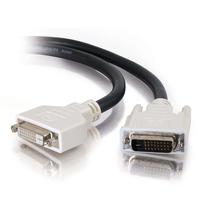 C2G 2m DVI-D Dual Cable - Noir