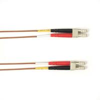 Black Box LC–LC, 3m Câble de fibre optique - Marron