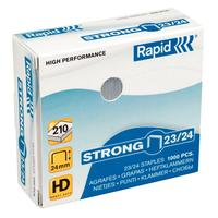Rapid Staples Strong 23/24 Galvanized Box of 1000 Agraphe - Acier inoxydable