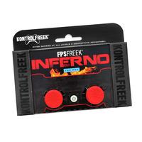 KontrolFreek FPS Freek Inferno thumbsticks voor PS4 - Rood