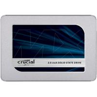 Crucial MX500 SSD - Blauw,Zilver